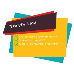 Taryfy Taxi