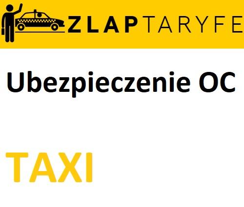 Ubezpieczenie taksówki: ile kosztuje OC taxi?